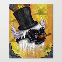 Frosty's Lament Print~! Canvas Print
