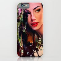 iPhone & iPod Case featuring Pin Up by Ganech joe