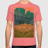 EMPIRE Mens Fitted Tee Pomegranate SMALL