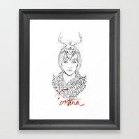 Lady Fortuna Framed Art Print