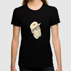 Tyler Womens Fitted Tee Black SMALL