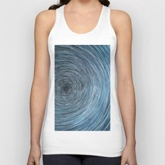 Deep Sky Star Trail Unisex Tank Top