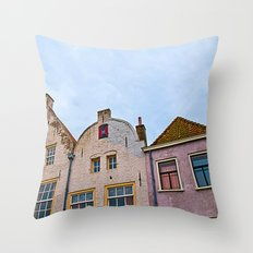 Windows, Dutch Version Throw Pillow