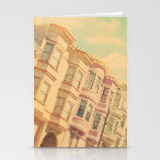Sweet San Francisco. SF photograph Stationery Card