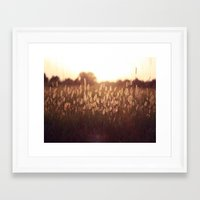 Twelve Framed Art Print