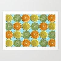 Lemons, Limes, Oranges, … Art Print