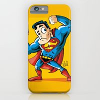 Strong man in Costume iPhone 6 Slim Case