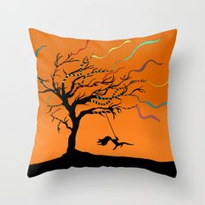 Among the Winds Throw Pillow