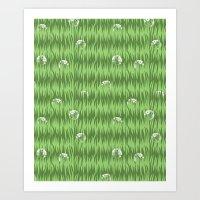Grassy Art Print