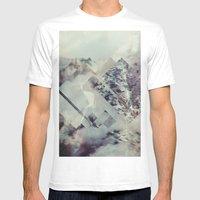 Fractions 10 Mens Fitted Tee White SMALL