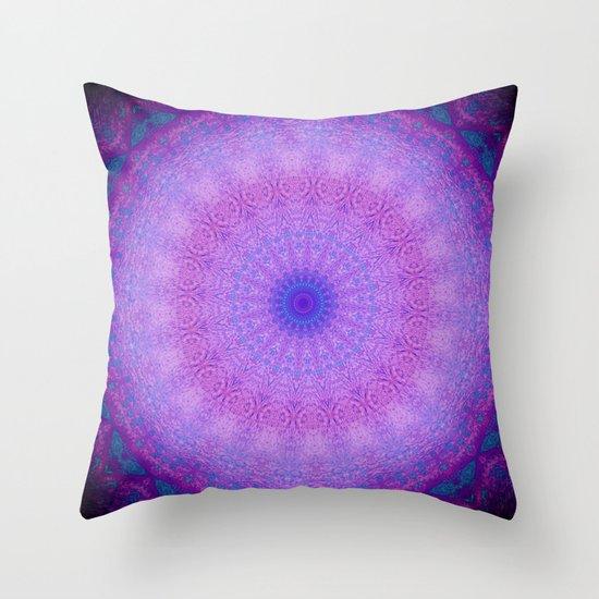 Last Call (Mandala) Throw Pillow