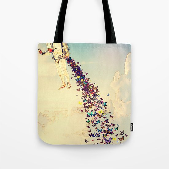 Leave It All Behind Tote Bag