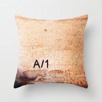 A-1 Throw Pillow