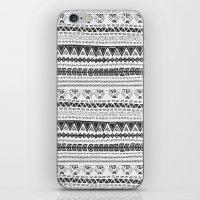 Dark aztec iPhone & iPod Skin