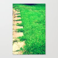 Canvas Print featuring The Path by Lindsey