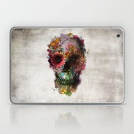 Laptop & iPad Skin featuring SKULL 2 by Ali GULEC
