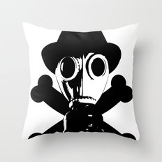 Man in the Mask Throw Pillow