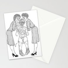 The Defamation of Normal Rockwell II (NSFW) Stationery Cards