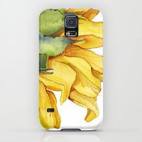 iPhone Cases featuring Sunflower by Cindy Lou Bailey
