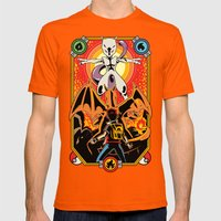 Epic Pocket Monster Mens Fitted Tee Orange SMALL