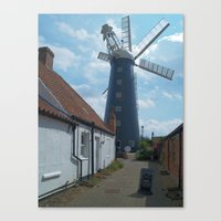 Waltham Mill 2 Canvas Print
