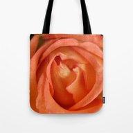 Softly Apricot Tote Bag