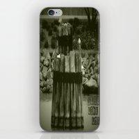 Sleep like a log iPhone & iPod Skin