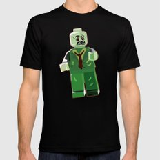 Zombie Mens Fitted Tee Black SMALL