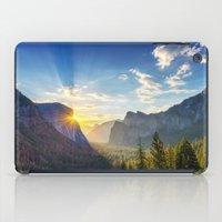 Yosemite Sunburst iPad Case
