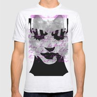 Woman Mens Fitted Tee Ash Grey SMALL