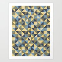 Art Print featuring Shapes 003 ver 2 by INDUR