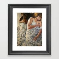 Origin Of Love #2 Framed Art Print