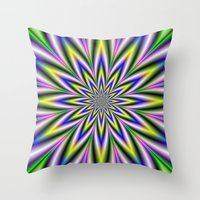 Twelve Pointed Star Throw Pillow