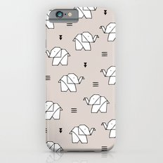 Origami elephant iPhone 6 Slim Case
