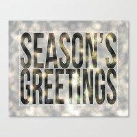 Season's Greetings Canvas Print