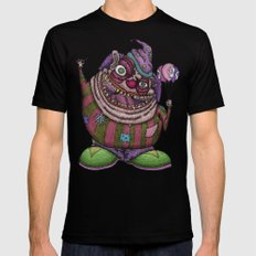 clown tshirt Black SMALL Mens Fitted Tee