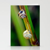 Climbing Up the Stalk Stationery Cards