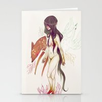 Naked Fingers Stationery Cards