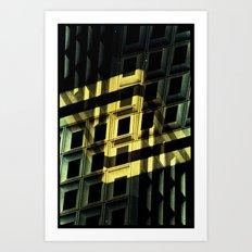 Landscapes c17 (35mm Double Exposure) Art Print