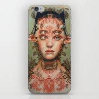 The Dream Thief By Alex … iPhone & iPod Skin