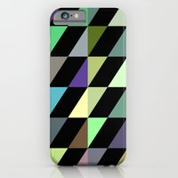 Tilted rectangles pattern iPhone 6 Slim Case