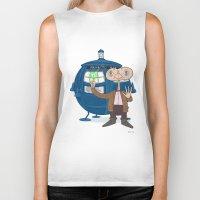 Dr. Who E.T. Biker Tank