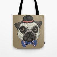 Mr Pug Tote Bag