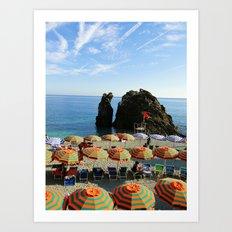 Monterosso al Mare B Art Print