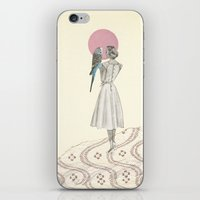A Bird in the Hand iPhone & iPod Skin