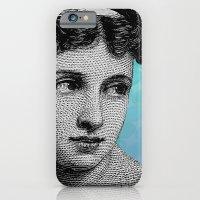 Seductress Blue iPhone 6 Slim Case
