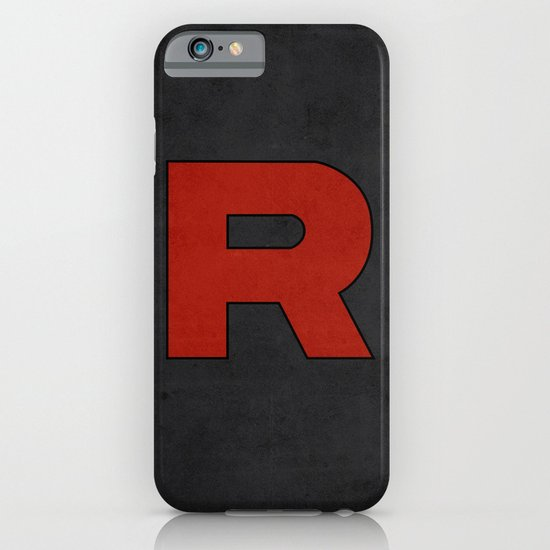 Team Rocket Logo - Pokemon Minimal Poster  iPhone & iPod Case