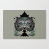 Cat of Spades Canvas Print
