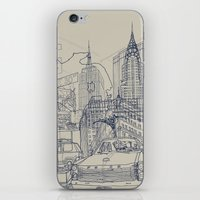 New York! iPhone & iPod Skin