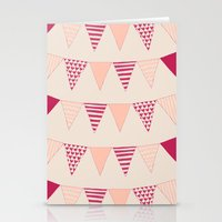 Bunting Stationery Cards